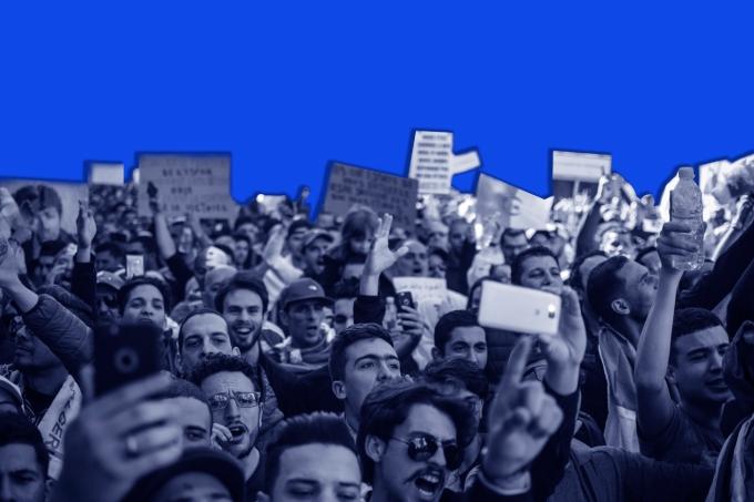 Violência em protestos