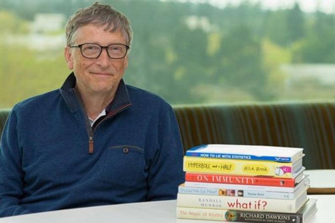 Bill Gates recomenda livros em 2020