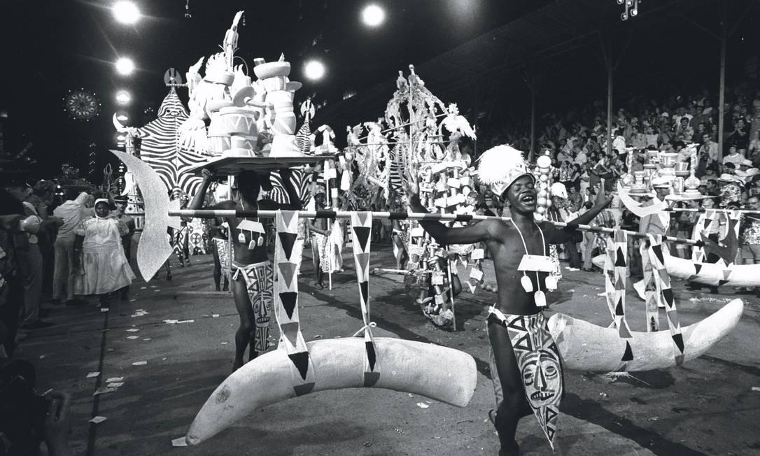 Desfile Salgueiro 1960