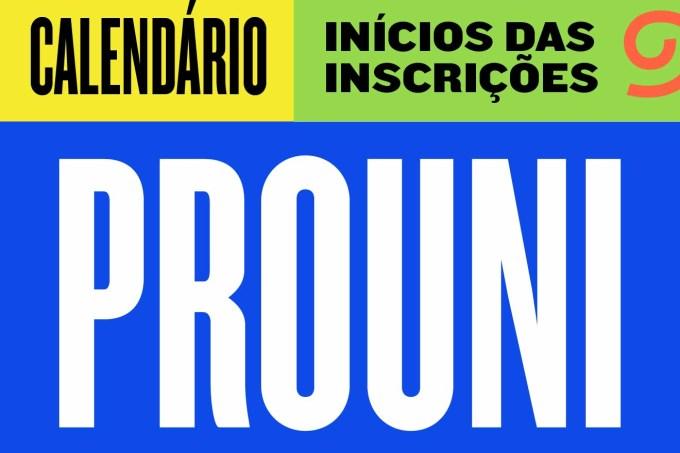 Calendário PROUNI-20