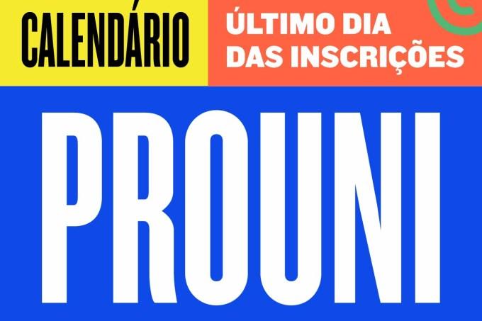Calendário PROUNI ULTIMO DIA -20