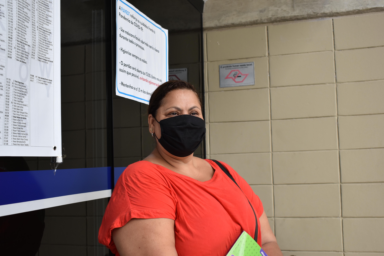 Ivonete esperava a filha, que prestou Biomedicina