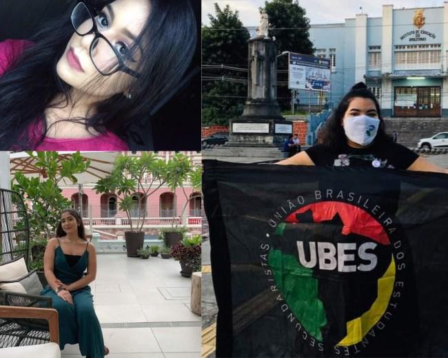 Estudantes do Amazonas comentam o adiamento do Enem (Em ordem Ana Yasmin, Dara Carvalho e Hellen Saldanha Saldanha)