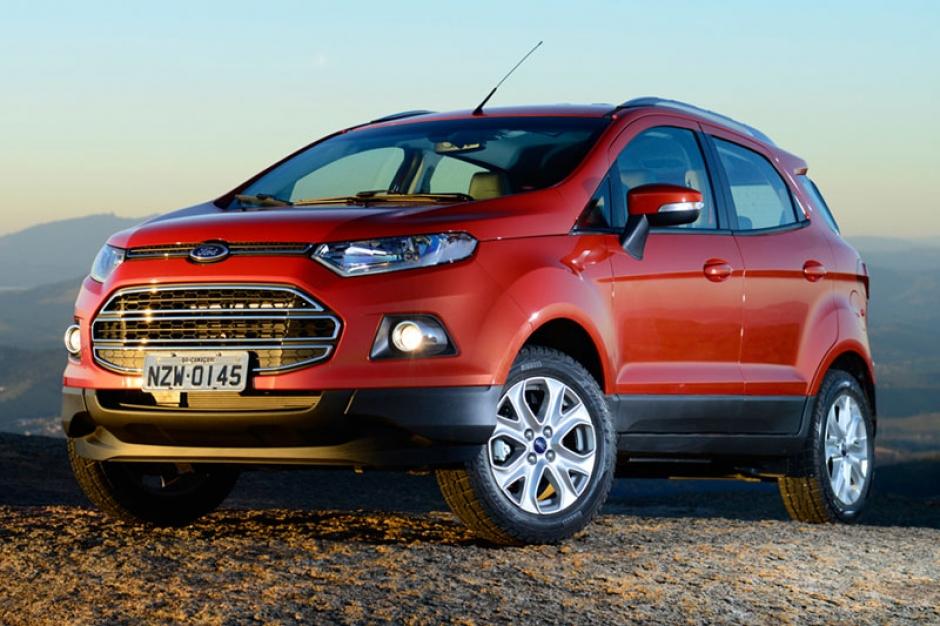 Ecosport é um carro fabricado no Brasil