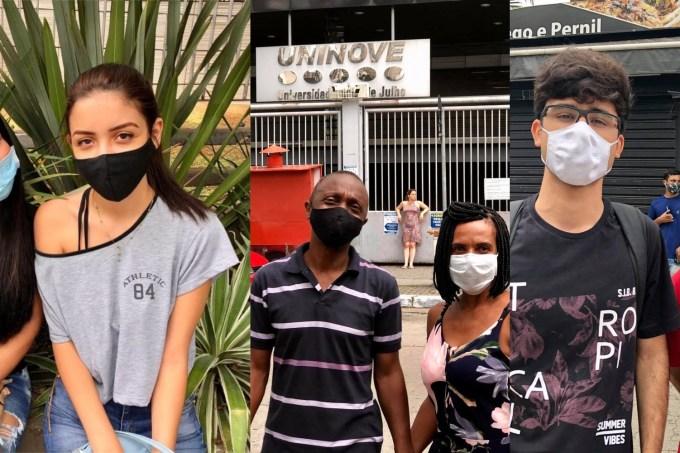 Fuvest 2021: pais e estudantes falam da prova na pandemia