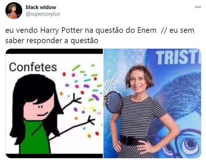 Harry Potter no Enem
