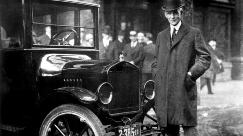 Henry Ford, criador da Ford e do fordismo