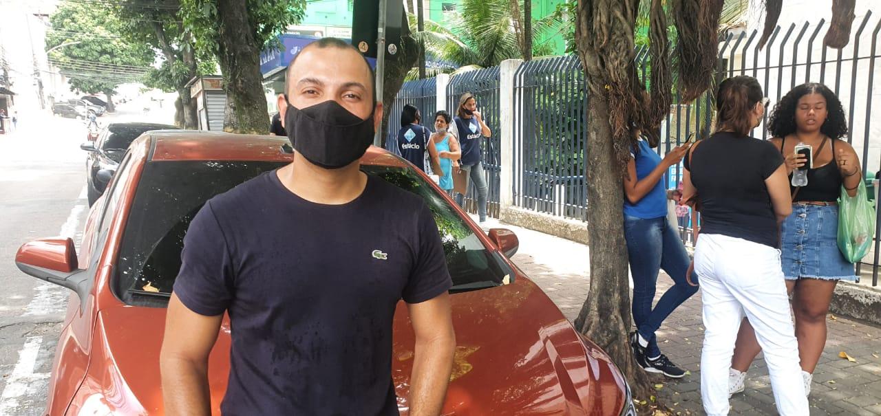 Rafael Monteiro Lira, 29, no Enem Digital