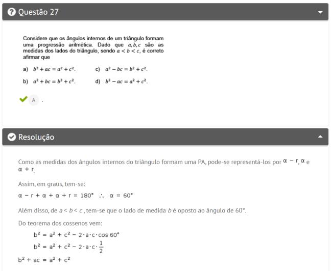 Questão de matemática