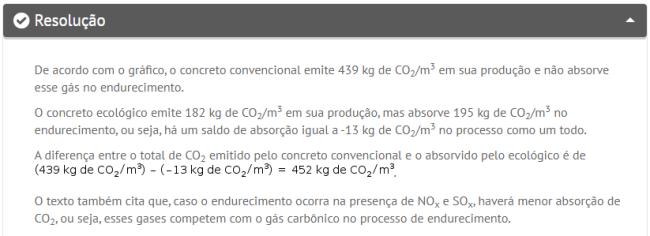 Questão de química