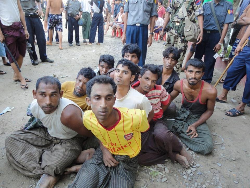 Grupo Rohingyas