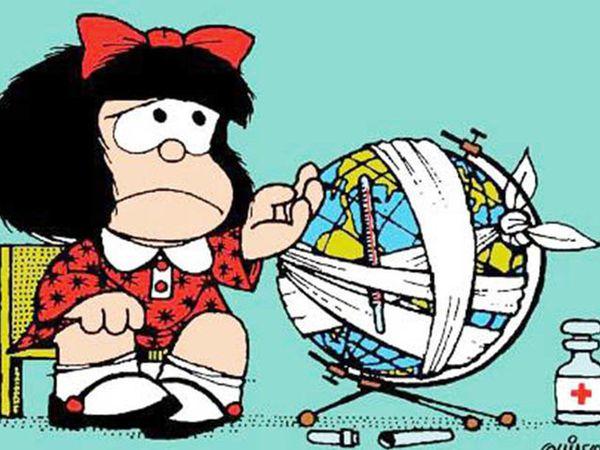 Fuvest usa Mafalda, de Quino, na proposta de redação