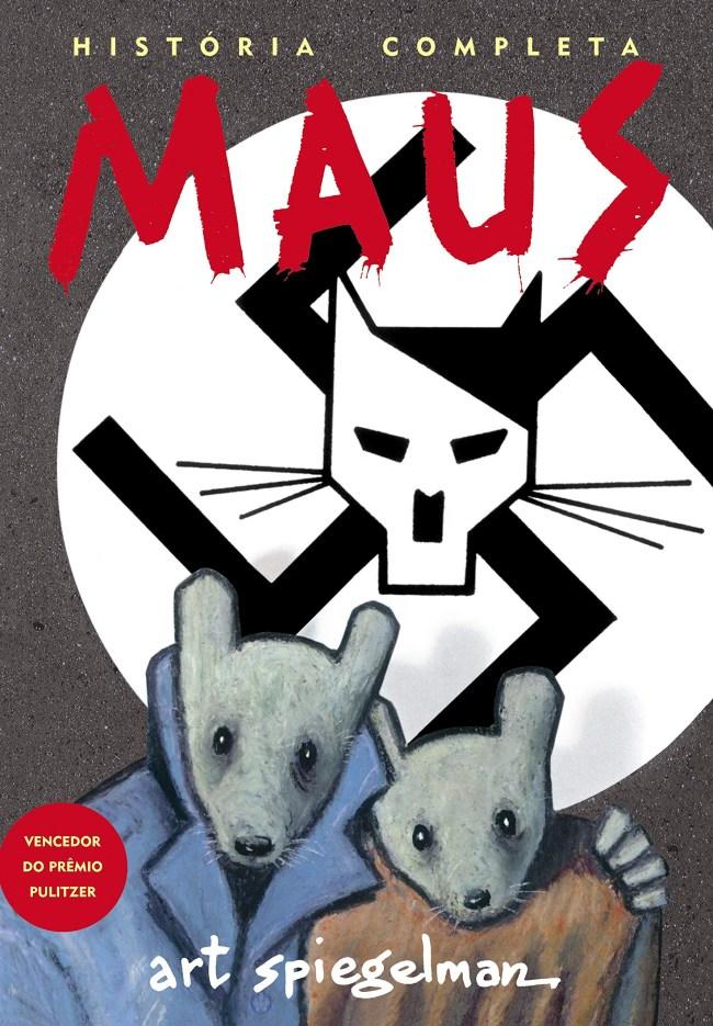 Maus é um graphic novel do cartunista americano Art Spiegelman, serializado de 1980 a 1991