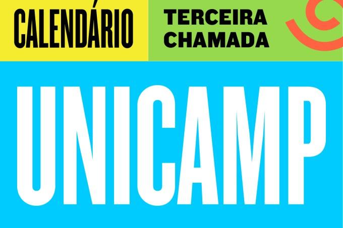 CALENDÁRIO UNICAMP 3 CHAMADA-03-03