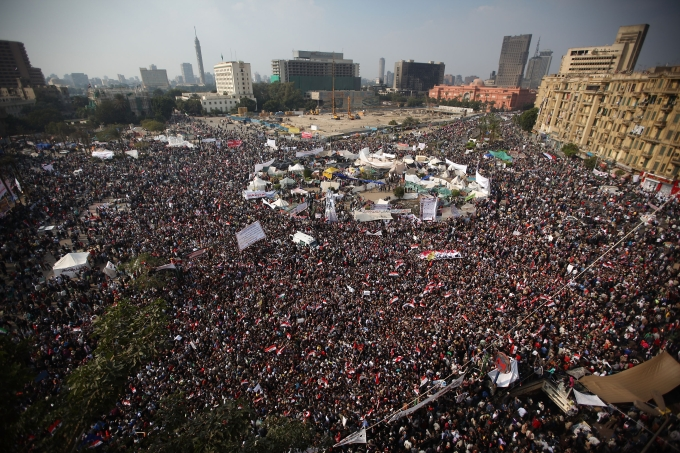 Cairo Tense As Preparations Continue For Elections