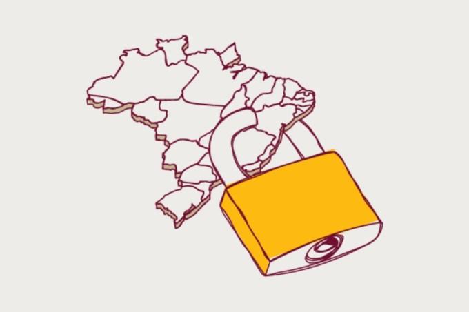 Lockdown no Brasil
