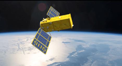 Arte mostra Amazonia 1 no espaço.