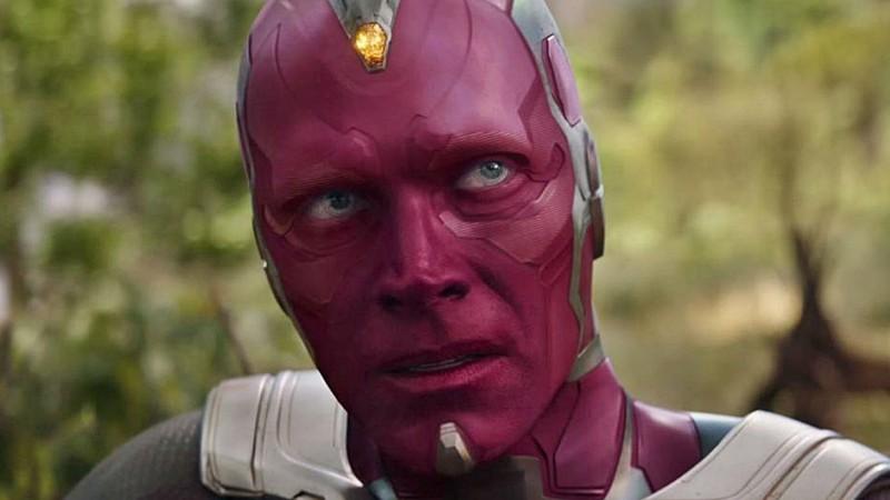 Visão, no filme Vingadores: Guerra Infinita
