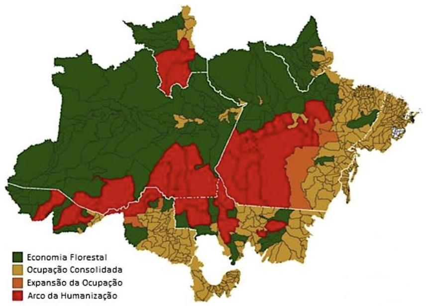Plano Amazônia 2021 - 2022 - áreas prioritárias