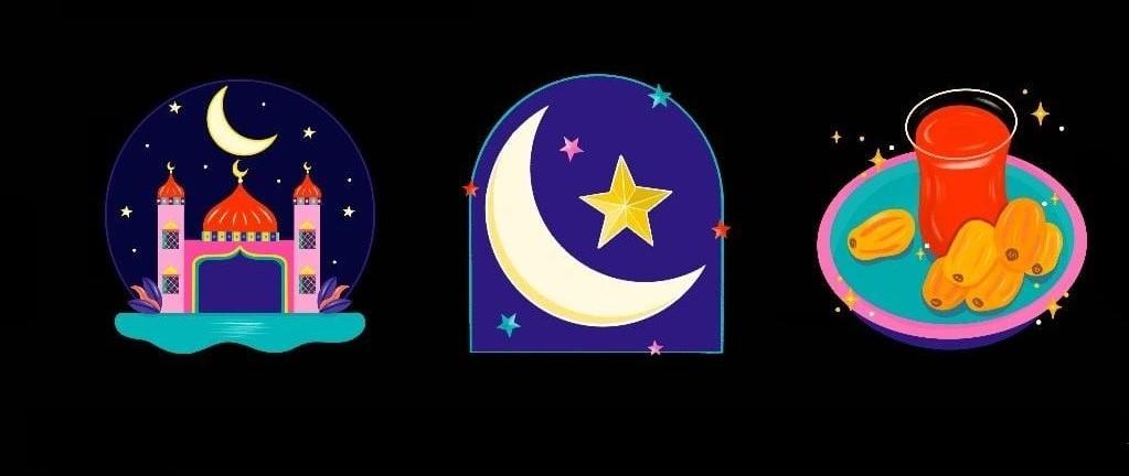 Novas figurinhas do Ramadan no Instagram