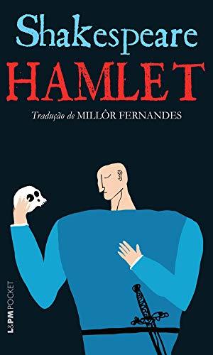 Capa do livro Hamlet, de Shakespeare, com tradução de Millôr Fernandes