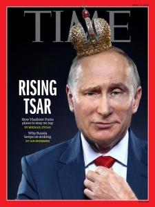 Capa da revista Time coloca Putin como um