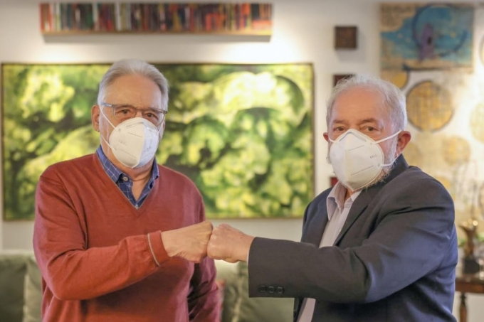 Fernando Henrique Cardos e Luiz Inácio Lula da Silva, ex-presidentes do Brasil Intagram