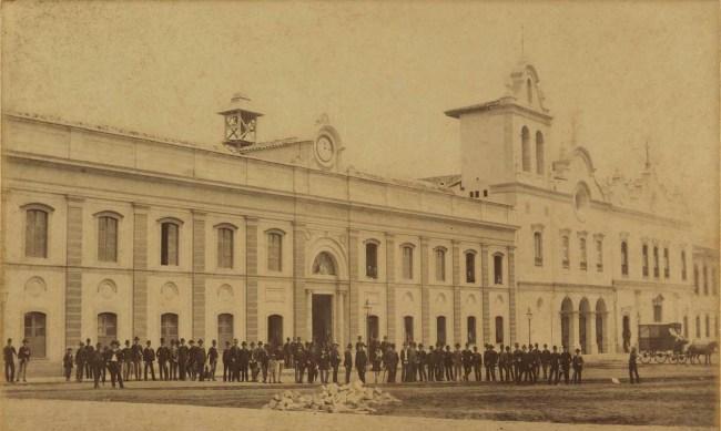 Faculdade de Direito da Universidade de São Paulo no século XIX.