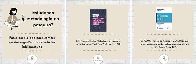 Café com Pesquisa - sugestões bibliográficas