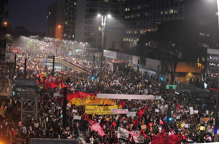Mais de 1 milhão de pessoas comparecem aos novos protestos em 388 cidades do Brasil