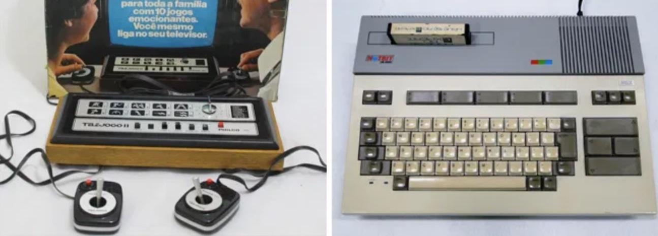 Telejogo e Hotbit, primeiras plataformas de jogos eletrônicos