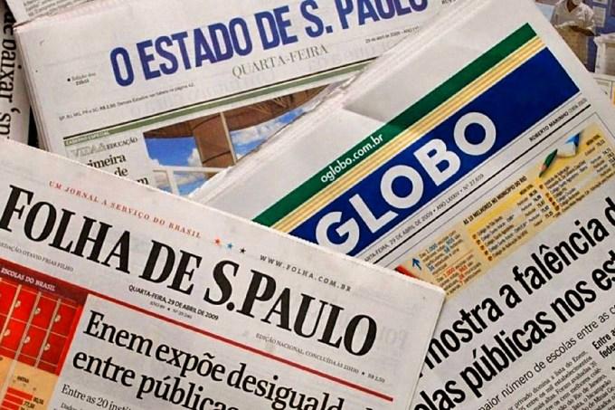 manchetes de jornais