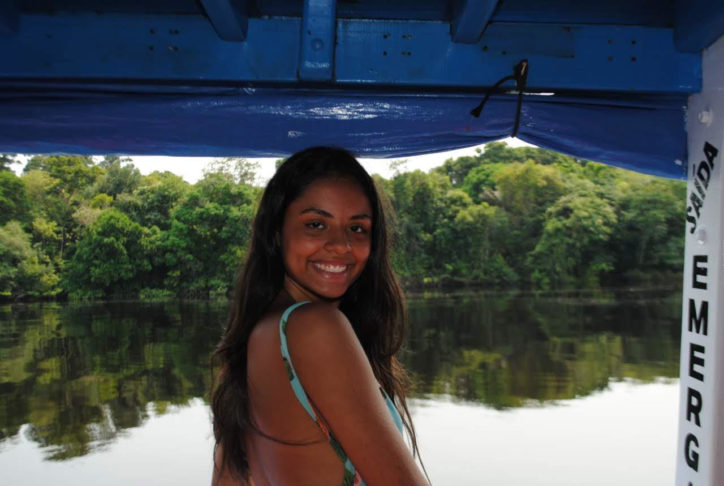 Beatriz Carreiro está entre os 46,8% de brasileiros que se autodeclaram pardos.
