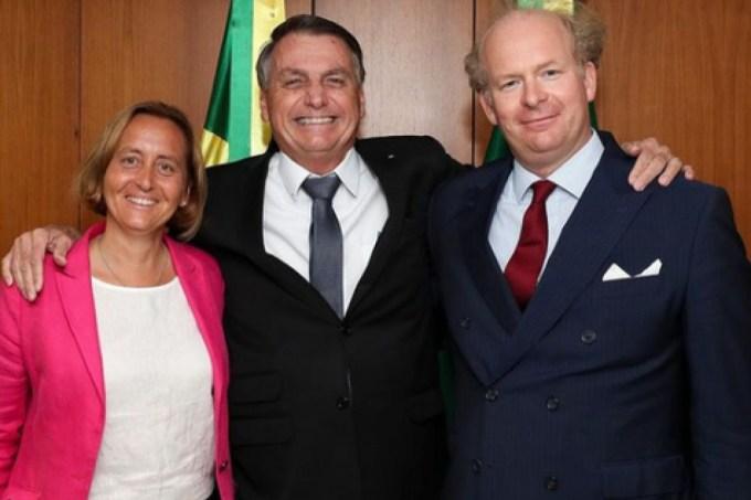 Bolsonaro e a deputada neonazista