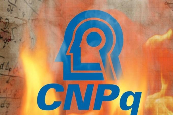 CNPq em chamas
