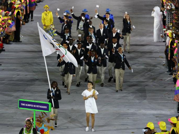Delegação de refugiados nos Jogos Olímpicos Rio2016