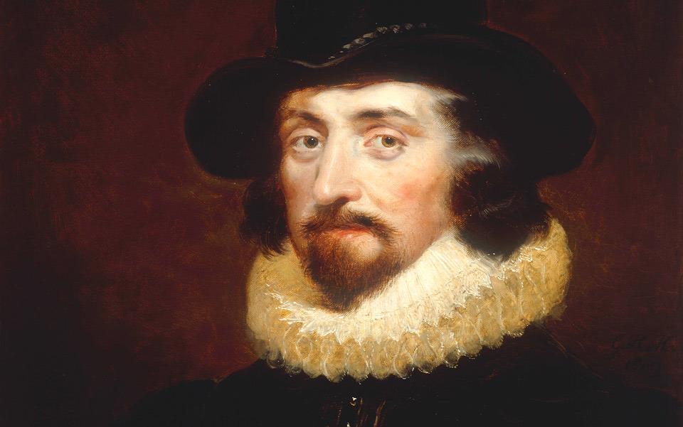 Francis Bacon sofreu um impeachment na Grâ-Bretanha em 1621.
