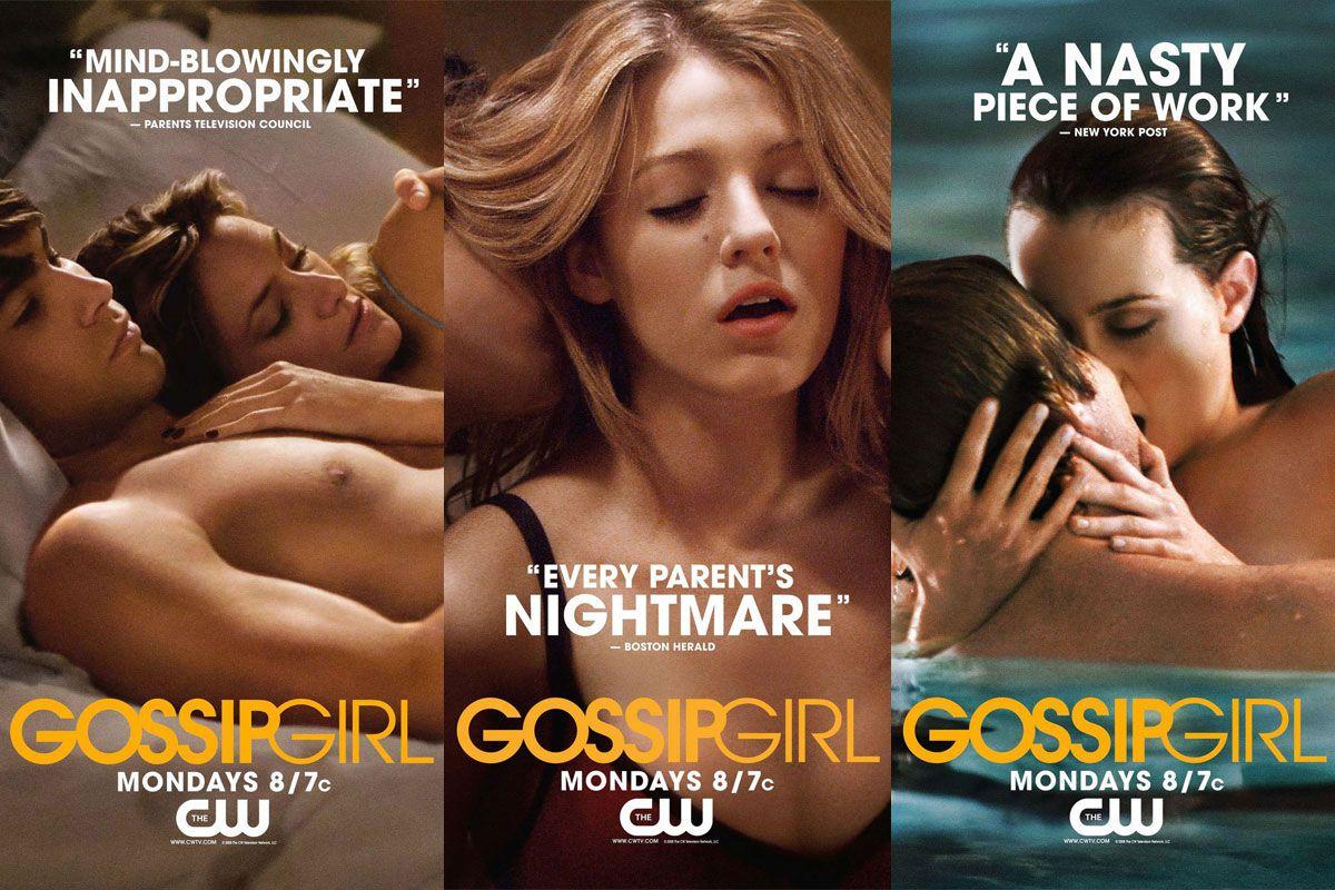 Pôster da série 'Gossip Girl'