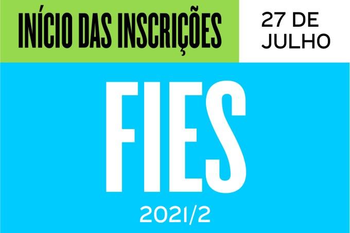 INSCRIÇÕES FIES 2021-2-08