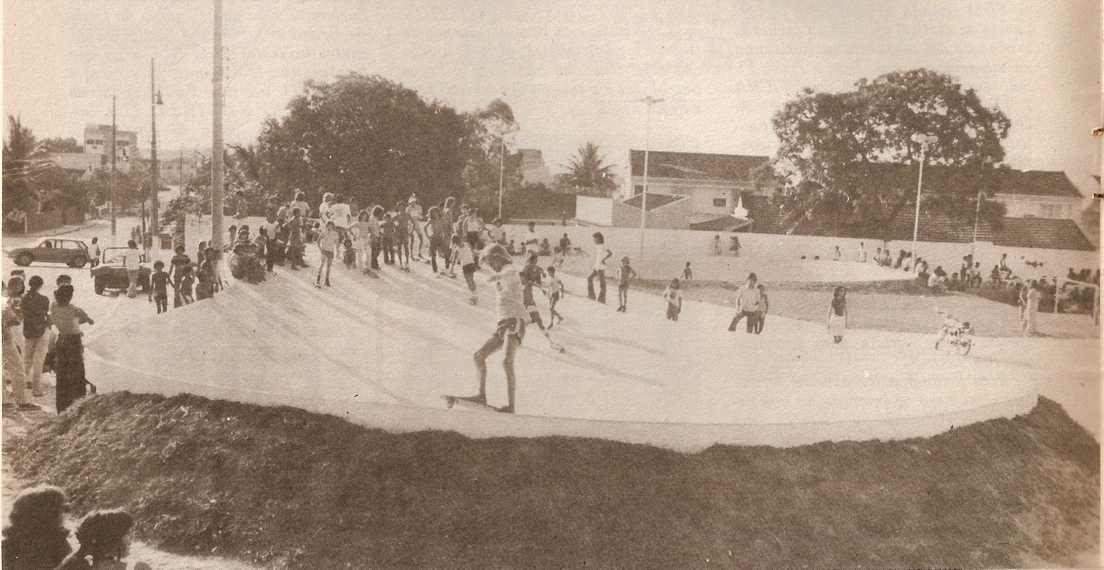Pista de Skate em Nova Iguaçu – 1977