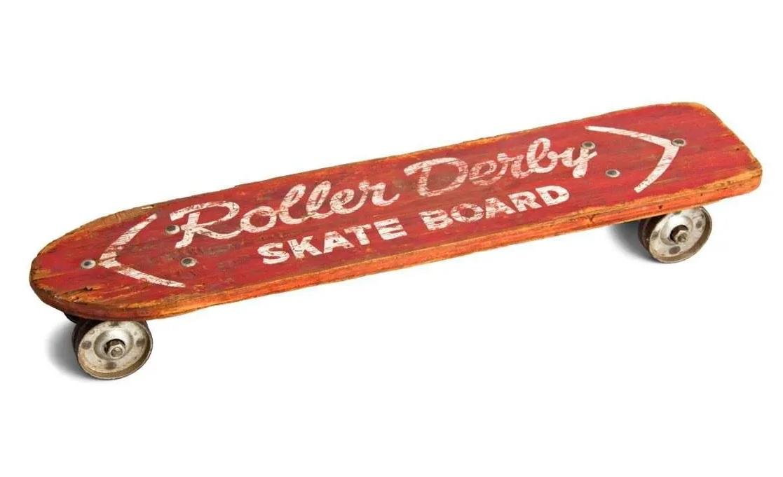 Roller Derby foi o 1º skate fabricado em série