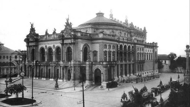 Teatro Municipal de São Paulo, inaugurado em 1911