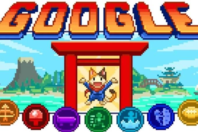 Doodle do Google homenageia os Jogos Olímpicos