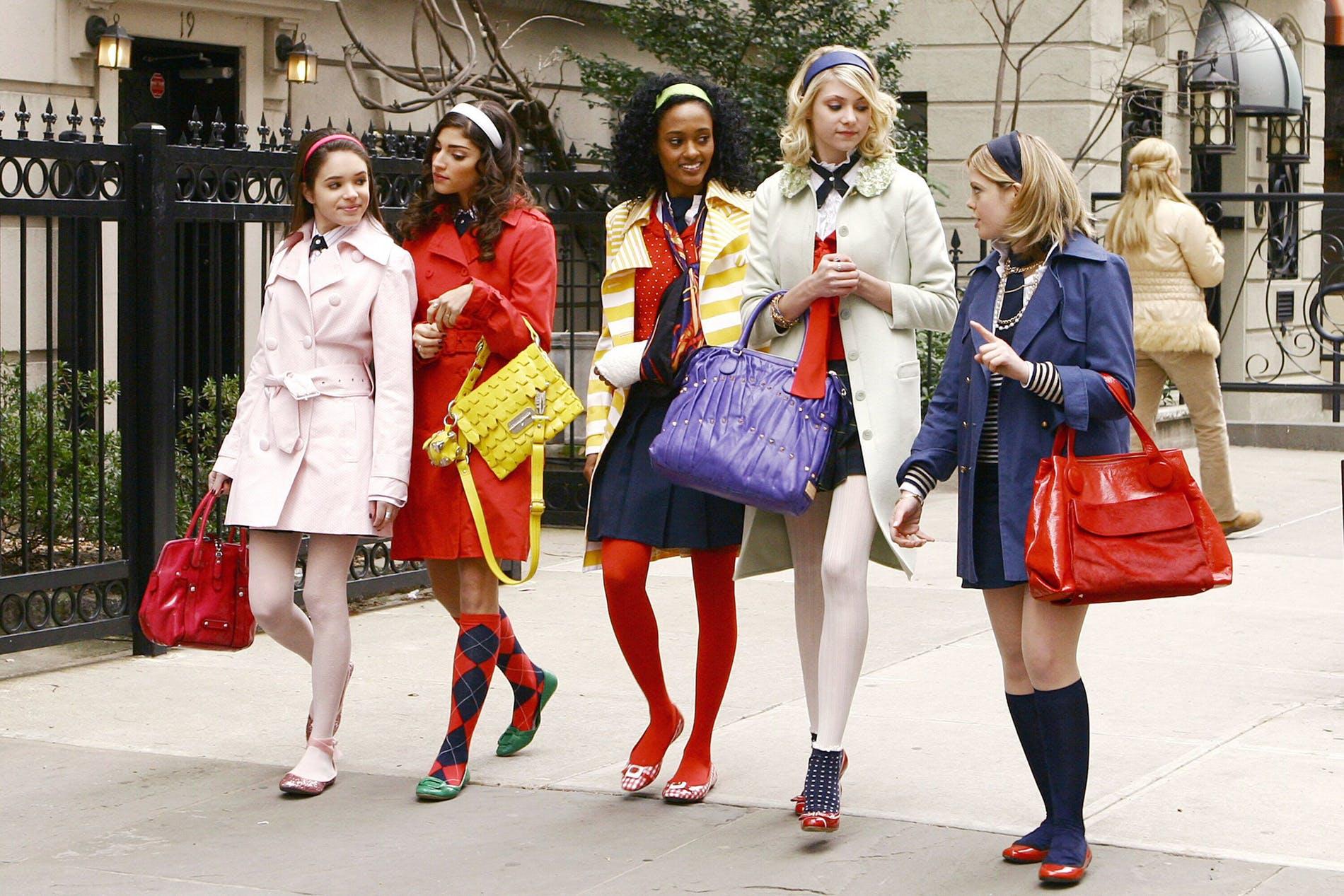 Cena da série 'Gossip Girl'