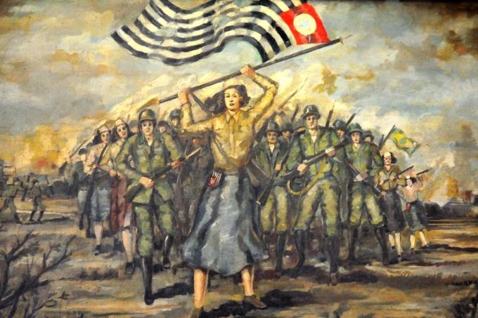 Quadro da Revolução Constitucionalista de 1932