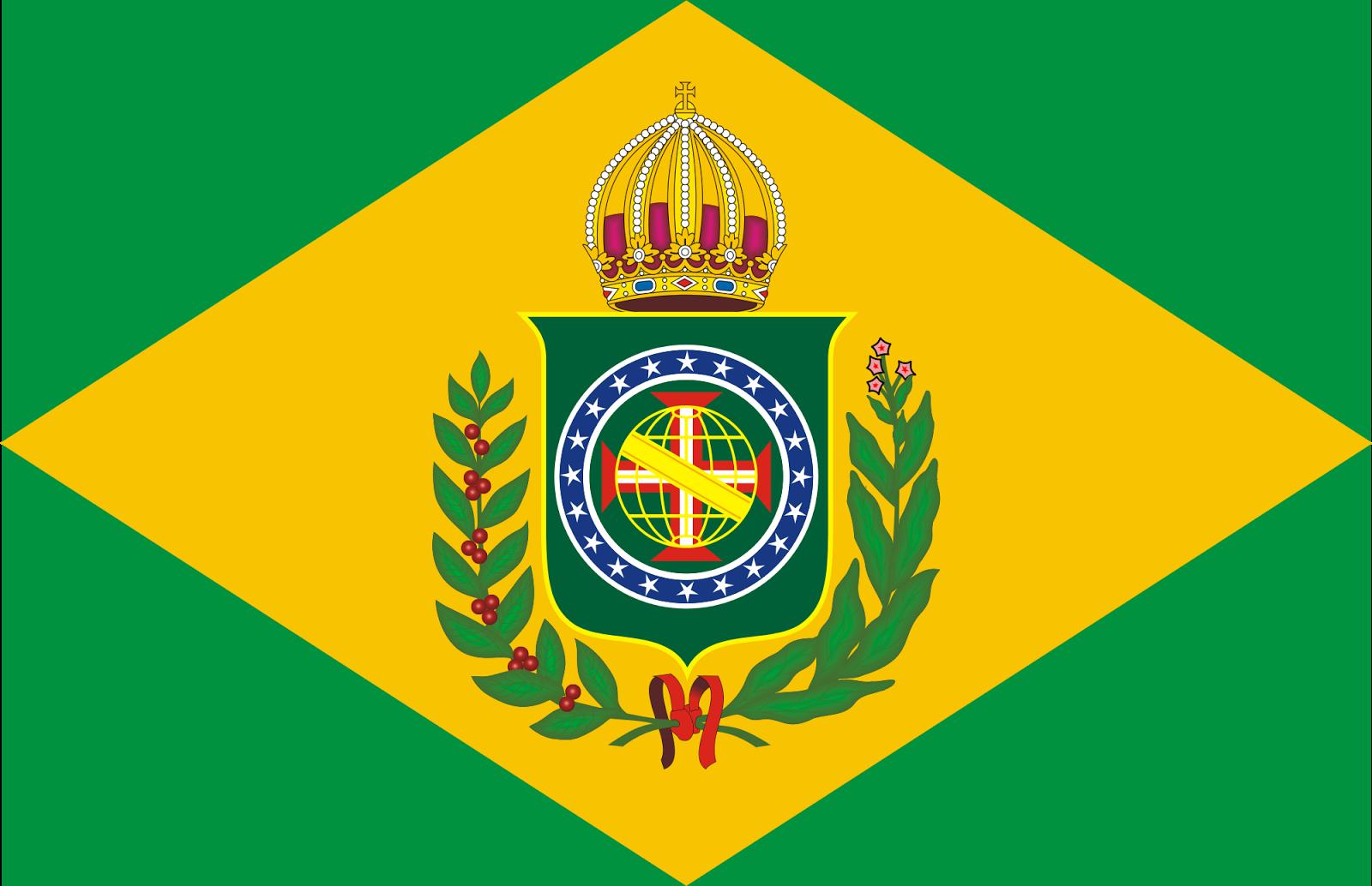 Bandeira do Brasil no 2º reinado