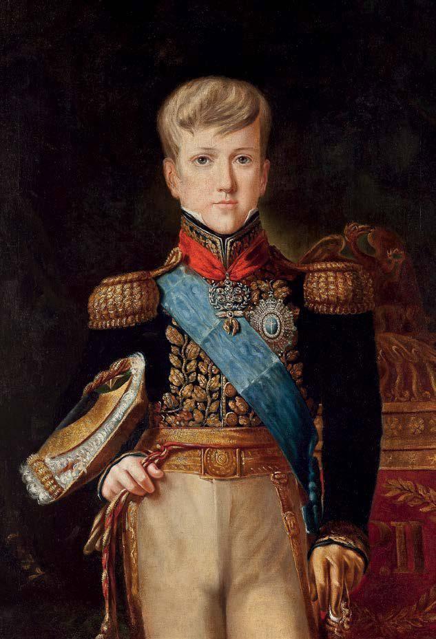 O jovem Dom Pedro ll