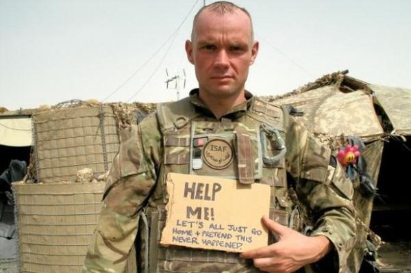 Soldado dos EUA no Afeganistão