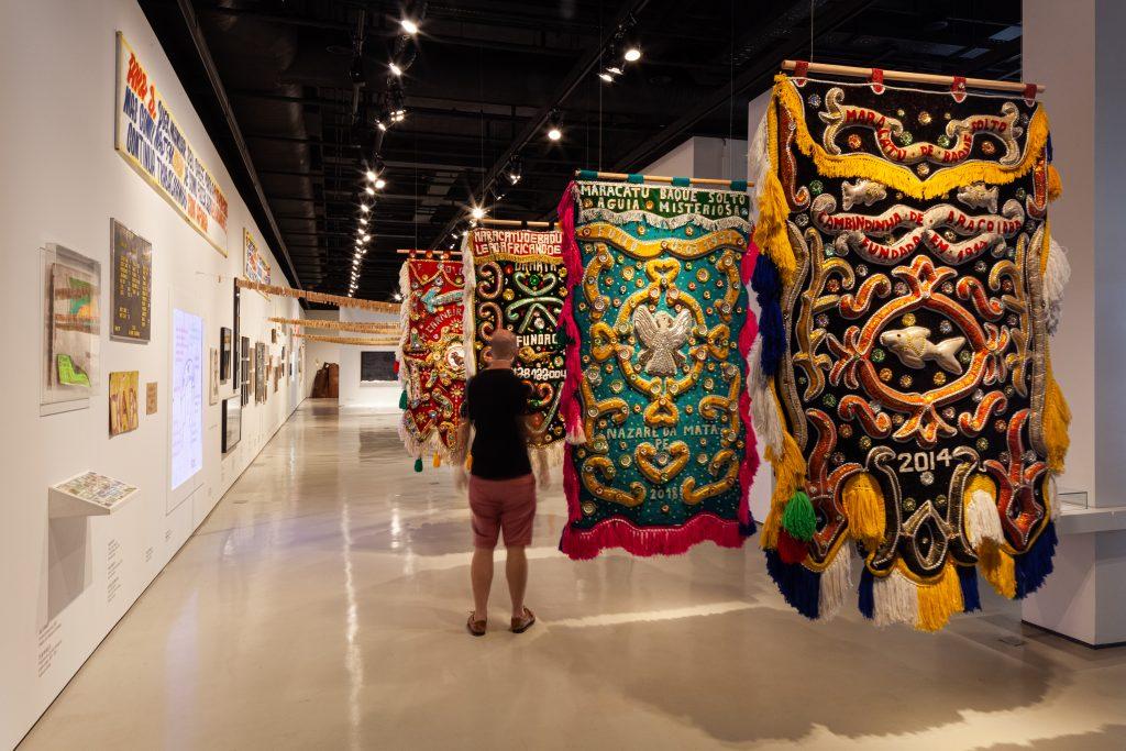 Exposição temporária Língua Solta do Museu da Língua Portuguesa (2021)